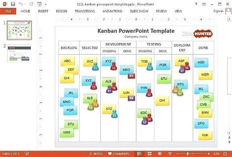 kanban card template excel free kanban excel template for kanban board excel template