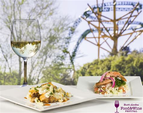 busch gardens food wine festival 2017 concert lineup and
