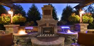 Fire and water features by elemental landscapes ltd
