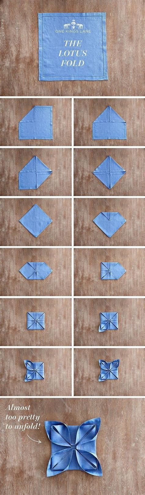 Paper Napkin Folding Designs - the world s catalog of ideas