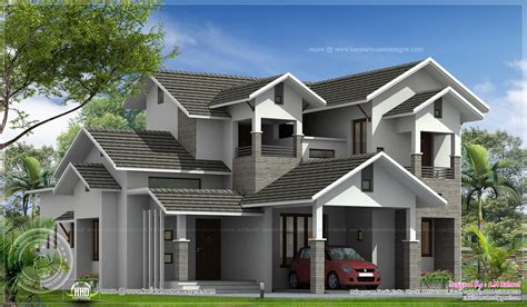 2500 sq ft house august 2013 kerala home design and floor plans