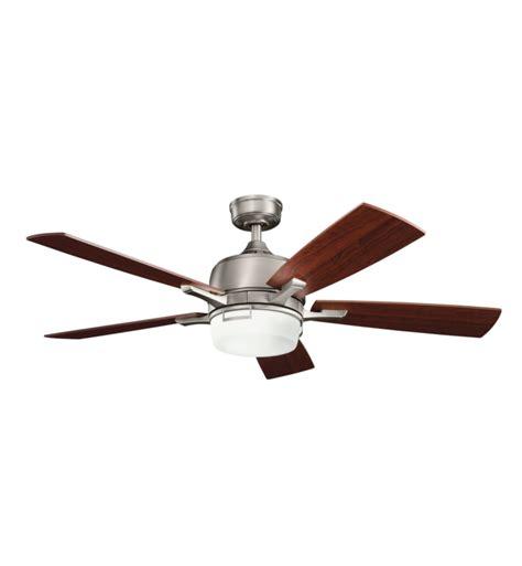 kichler 300427ap leeds 52 quot indoor ceiling fan with 5
