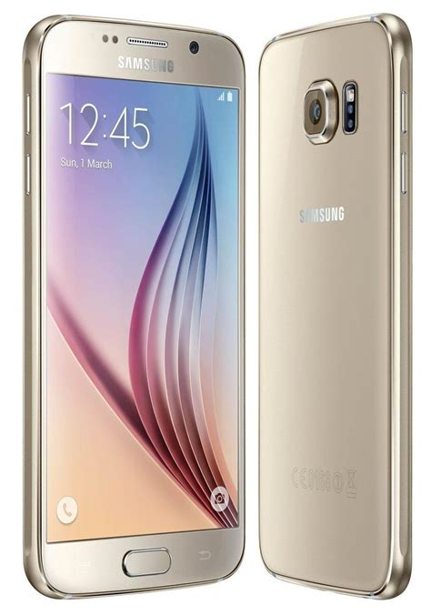 samsung galaxy s6 g920v 32gb gold verizon clean esn condition ebay