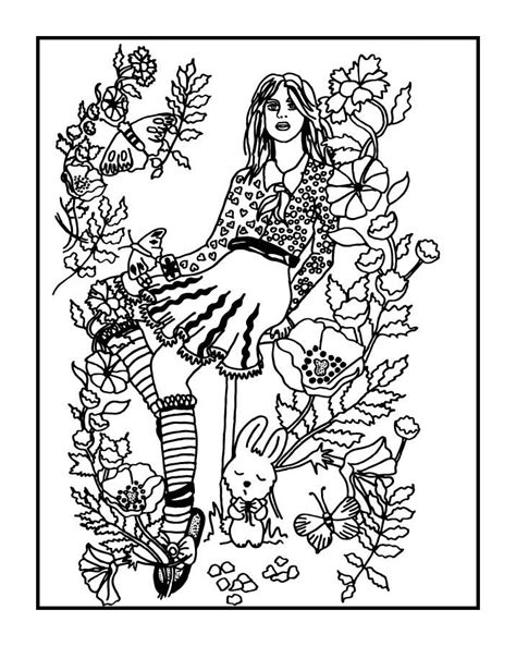 secret garden coloring book color pages your secret garden coloring book page by az coloring pages
