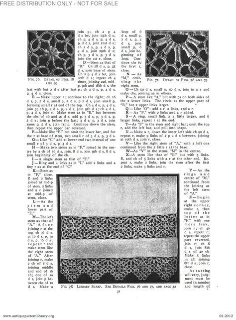 antique pattern library priscilla apl b ja034 priscilla tatting book no 2 page 32