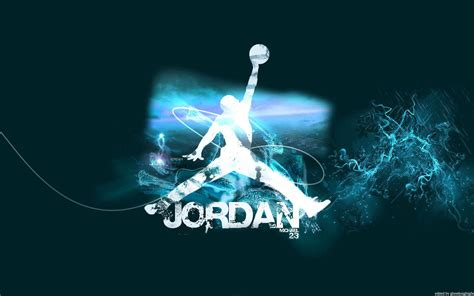blue jordan wallpaper air jordan logo wallpapers wallpaper cave