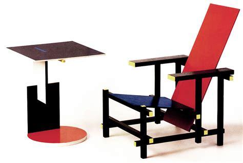 sedia rietveld gerrit rietveld artigiano design la casa in ordine