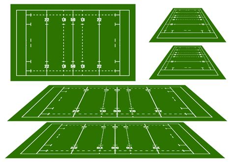 layout of vector arena rugby arena vectors download free vector art stock