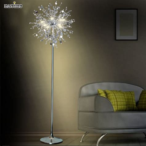 standing light living room crystal living room stand floor l modern flower floor