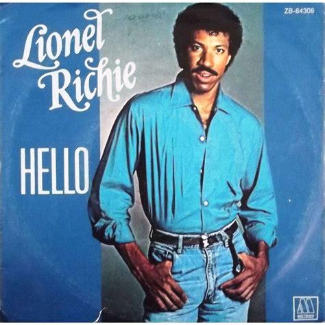 www lionel hello by lionel richie sp with vinyl59 ref 117717610