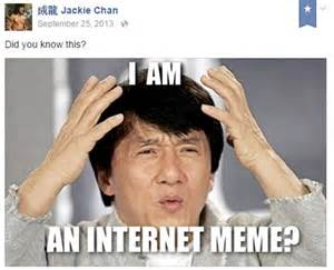 Jackie Chan Meme Face - 31 times jackie chan s facebook page was crazy and