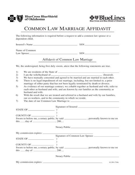 common law marriage in california 27 images of oklahoma notary template for certificate