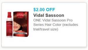vidal sassoon hair color coupon americoupons printable coupons and deals