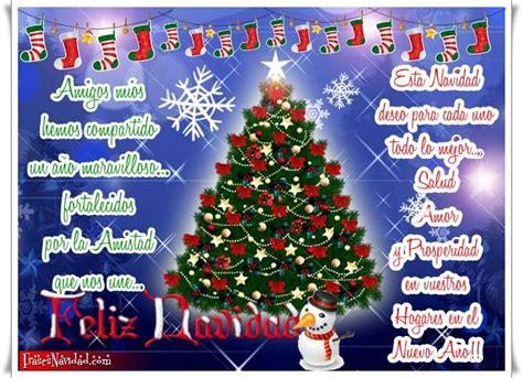 imagenes de feliz navidad para los amigos frases navide 241 as para los amigos con 225 rbol de navidad