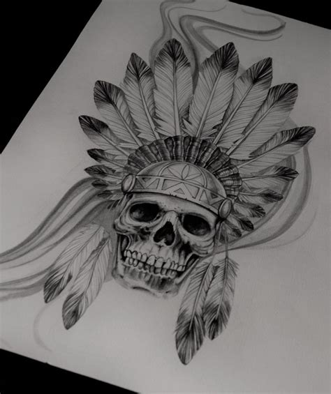 indian skull tattoos 25 best ideas about indian skull tattoos on