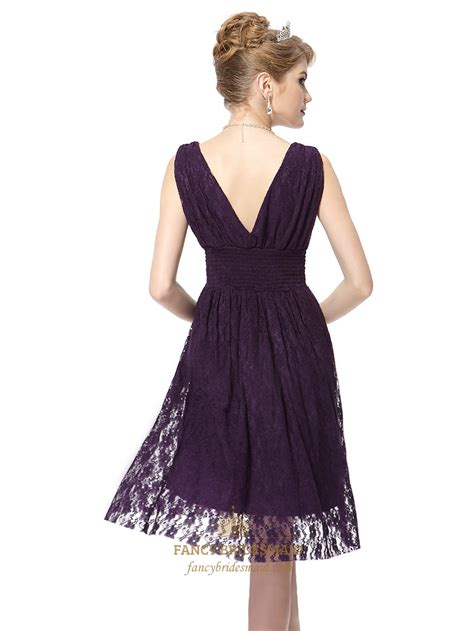 purple cocktail purple lace bridesmaid dresses www imgkid com the