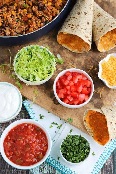 toppings for taco bar diy ta cones fun healthy portable taco cones two