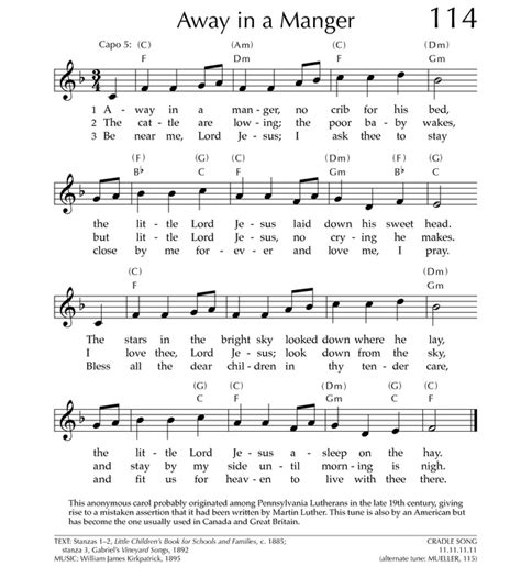 printable lyrics for away in a manger away in a manger pdf search results calendar 2015