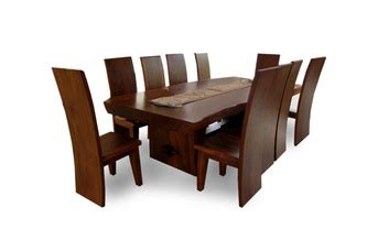 Meja Kerja Kayu Biasa meja makan set kayu biasa karunia jaya