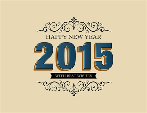 2015 new year vector designs for wallpapers vector