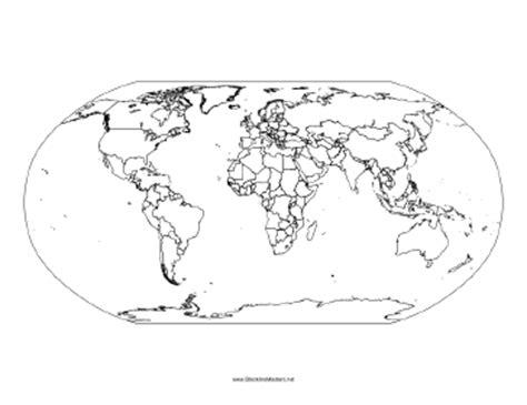 south america map blackline master blackline map of the world