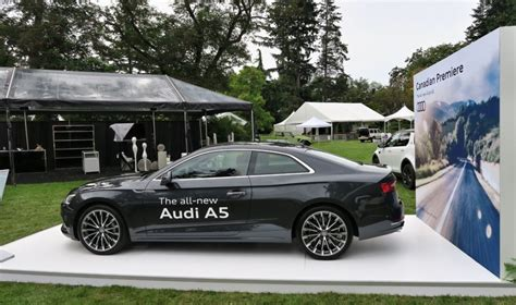 new audi a5 2018 2018 audi a5 coupe unveiled in vancouver drivers magazine