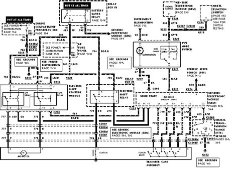 ranger  wiring diagram ford truck enthusiasts forums