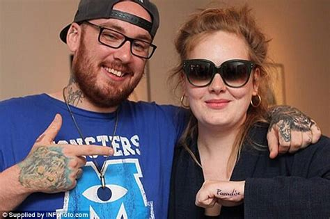 adele hand tattoo adele talks about tributes to angelo and