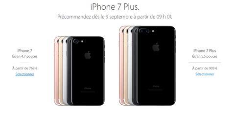 free proposera d 232 s demain l iphone 7 et l iphone 7 plus en pr 233 commande