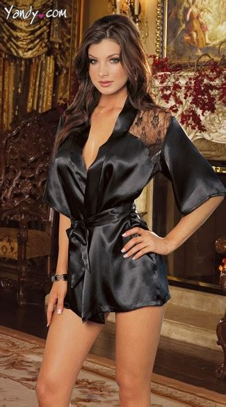 Jual Secret Robe charmeuse robe and silk robe and
