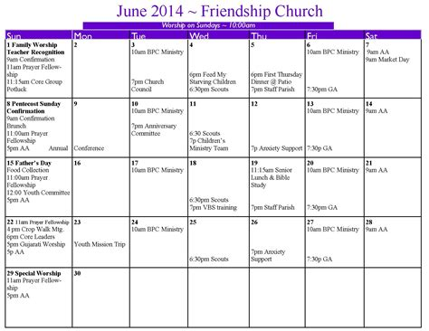 church calendar template methodist revised common lectionary 2015