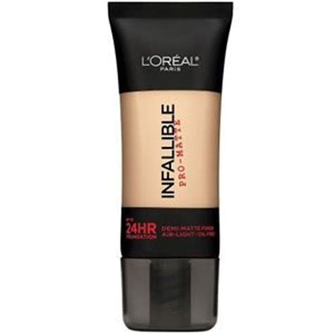L Oreal Infallible Pro Matte Foundation Review l oreal infallible pro matte 24hr foundation reviews photos ingredients makeupalley