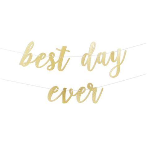Best Day Ever Script Glitter Banner ? Alexis Mattox Design