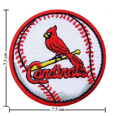 50 dollar sew in st louis st louis cardinals baseball style 2 embroidered sew on patch