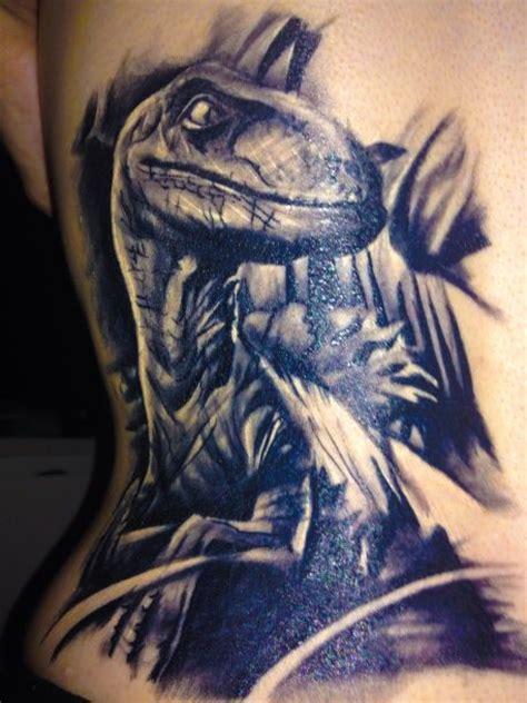 velociraptor tattoo dinosaur jurassic park velociraptor