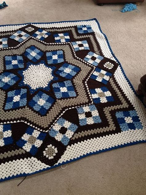 quilt pattern crochet afghan star quilt afghan crochet pattern pictures to pin on