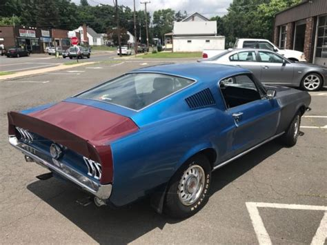 1967 mustang fastback 7f02c with lots of parts 1967 ford mustang 2 2 fastback 4sp manual partially restored lots of new parts