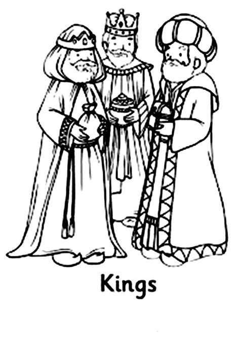 three kings following star of bethlehem coloring pages
