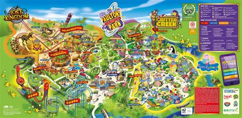 theme park uk map big peppa pig world expansion at paultons park in 2018