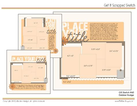 scrapbook page templates free scrapbook page sketch and template bundle july 30 2010