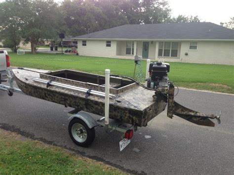 layout boat manufacturers 2012 homemade aluminum layout sneak boat duck boat for