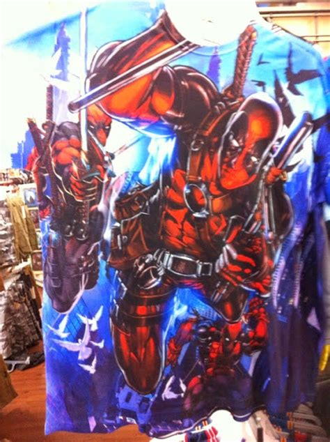 Tshirt X The Wolverine 48 Roffico Cloth new deadpool t shirt at walmart deadpool bugle
