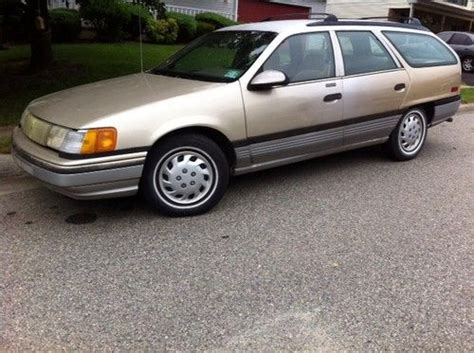 how make cars 1986 mercury sable electronic valve timing buy used 1986 mercury sable ls wagon only 56k miles in wilmington delaware united states