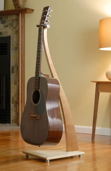 wood guitar stands    stand