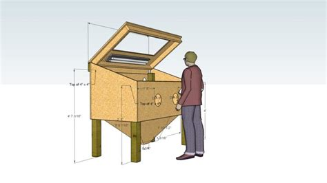bakes homemade sandblasting cabinet plans