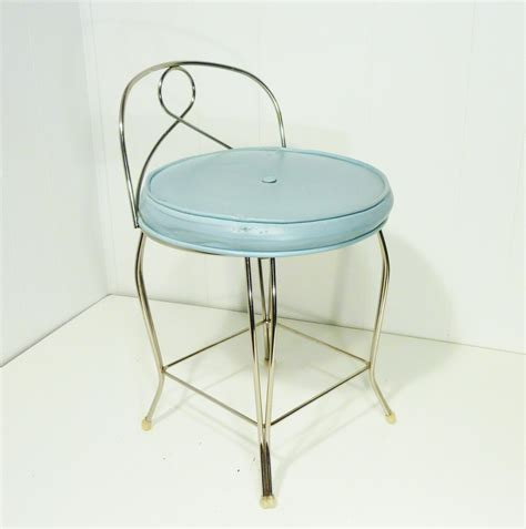 george koch vanity stool chair robins egg by
