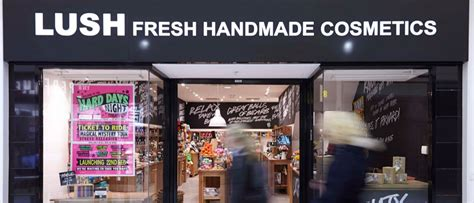 Lush Fresh Handmade Cosmetics Locations - lush at the cleveland centre the cleveland centre