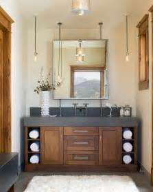 Rustic Modern Vanity Lighting Turret Home With Rustic Interiors Modern House Designs