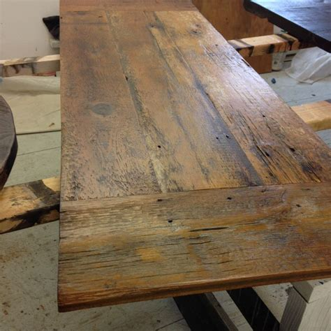 reclaimed wood bar table best 25 reclaimed wood desk ideas on corner