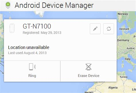 what is android device manager how to configure the new android device manager on your phone ghacks tech news